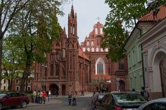 Церковь St Anne Стоковые Изображения