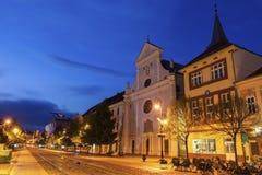 Церковь St Anton в Kosice стоковая фотография rf