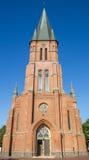 Церковь St Antonius в историческом центре Papenburg Стоковое Изображение RF