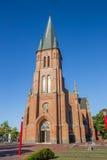 Церковь St Antonius в историческом центре Papenburg Стоковые Фото
