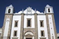 Церковь St Antons, Evora; Португалия стоковая фотография rf