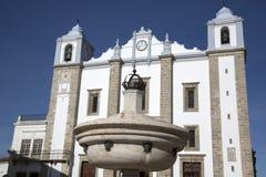 Церковь St Antons; Evora стоковые изображения rf