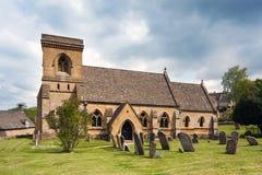 Церковь St. Barnabas, Snowshill Стоковая Фотография RF