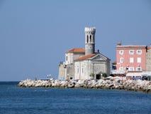 Церковь St Clement & маяк (174) Стоковое Изображение