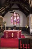 Церковь St Digain, Llangernyw, Уэльса Стоковое Фото