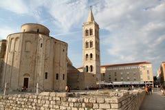 Церковь St. Donat Zadar Хорватии стоковое изображение