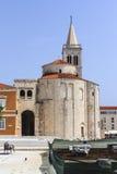 Церковь St Donatus, Zadar Стоковое Изображение