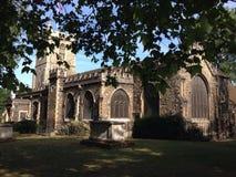 Церковь St Dunstan Стоковые Фотографии RF