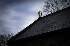 Церковь St Dyfnog, Llanrhaeadr, Уэльс Стоковое Изображение RF