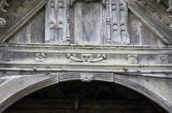 Церковь St Dyfnog, Llanrhaeadr, Уэльс Стоковое фото RF