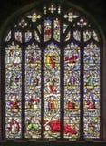 Церковь St Dyfnog, Llanrhaeadr, Уэльс Стоковые Фото