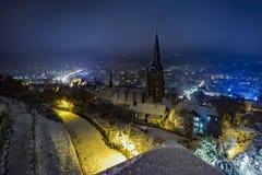 Церковь St Elisabeth Марбурга стоковое фото rf