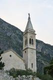 Церковь St Eustahije, залива Kotor, Черногории Стоковое Изображение RF