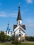 Церковь St. George в окружающей среде Санкт-Петербурга в summerPetersburg Стоковые Фото