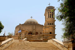 Церковь St. George (Каир) стоковое фото