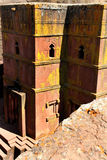 Церковь St. George - Lalibela Стоковые Фото