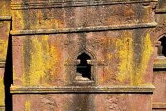 Церковь St. George - Lalibela Стоковое Фото