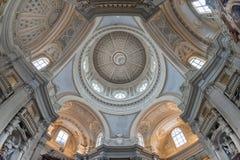 Церковь St Hubert, Venaria, Турина, Италии Стоковое фото RF