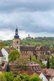 Церковь St Jakob, Бамберг, Германия стоковое фото rf