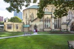 Церковь St James в Торонто Стоковые Фотографии RF