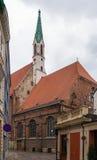 Церковь St. John, Рига стоковые изображения