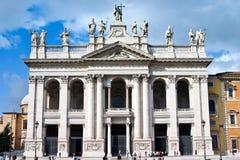 Церковь St. John Lateran/Laterno Рим Италия Archbasilica стоковое изображение