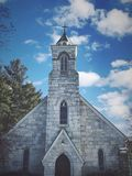 Церковь St Joseph в Коннектикуте стоковые изображения rf