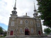 Церковь St Joseph в Deschambault в Канаде стоковая фотография rf