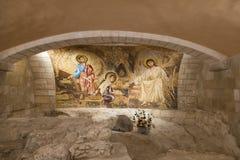 Церковь St Joseph, Назарет Стоковые Изображения