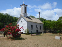 Церковь St Joseph на Молокаи Стоковые Фото