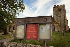 Церковь St Laurence - Hawkhurst - IV - стоковая фотография