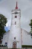 Церковь St Laurence, Kuressaare стоковая фотография