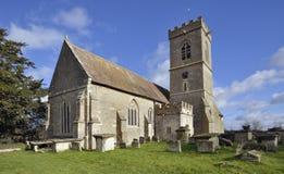 Церковь St Laurence, Longney стоковые фотографии rf