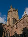Церковь St Laurence, Ludlow стоковые фотографии rf