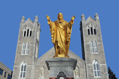 Церковь St Laurent Стоковое Изображение RF