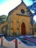 Церковь St Mark, Lansdowne, Uttarakhand стоковые изображения