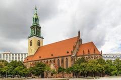 Церковь St Mary, Берлин Стоковые Фото