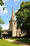 Церковь St Marys, более низкий убой стоковое изображение rf