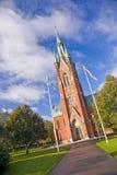 Церковь St Matteus, Norrkoping Стоковое фото RF