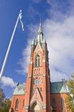 Церковь St Matteus, Norrkoping Стоковые Изображения RF