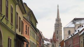 Церковь St Matthias Будапешт, Венгрия Стоковое фото RF