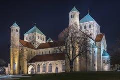 Церковь St Michaels в Хильдесхайме Стоковое фото RF