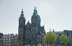 Церковь St Nicholas, Амстердам Стоковое Фото