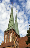 Церковь St Nicholas, Берлин Стоковые Изображения RF