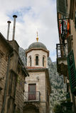 Церковь St Nicholas в Kotor, Черногории Стоковые Фотографии RF
