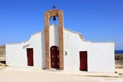 Церковь St Nicholas, деревня Vasilikos Стоковая Фотография