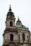 Церковь St Nicholas - Праги Стоковые Изображения RF