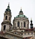 Церковь St Nicholas - Праги Стоковое фото RF