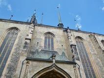 Церковь St Nicholas - чехия Стоковое фото RF