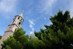 Церковь St Nicholas - Cavtat Стоковое Изображение RF